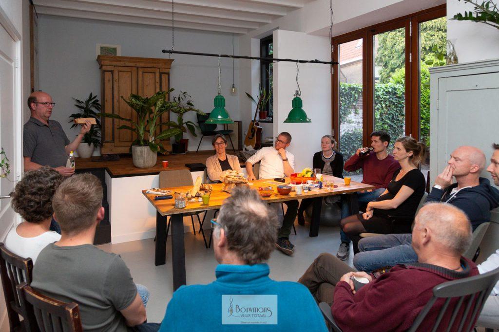 Bouwmans Hout stoken openhaard openhaarden haard kachel cursus training stook workshop eindhoven burgerinitiatief barbas dik geurts Deurne