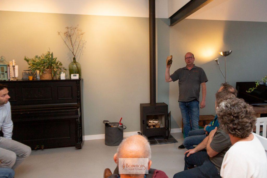 Bouwmans Hout stoken openhaard openhaarden haard kachel cursus training stook workshop eindhoven burgerinitiatief barbas dik geurts Patrick van Mierlo