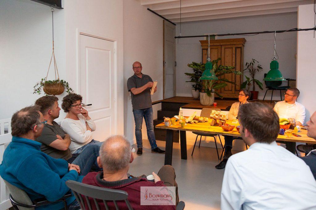 Bouwmans Hout stoken openhaard openhaarden haard kachel cursus training stook workshop eindhoven burgerinitiatief barbas dik geurts Nuenen