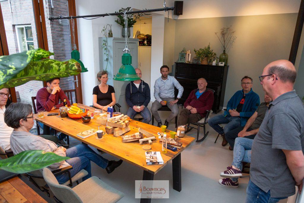 Bouwmans Hout stoken openhaard openhaarden haard kachel cursus training stook workshop eindhoven burgerinitiatief barbas dik geurts